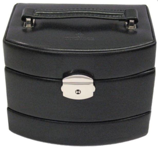 malý automatický kufřík na šperky MERINO Windrose 10   kufříky a  šperkovnice MERINO   glancshop.cz